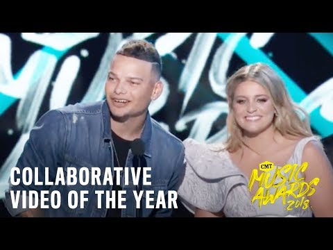 """Collaborative Video of the Year   Kane Brown feat. Lauren Alaina, """"What Ifs""""   2018 CMT Music Awards"""