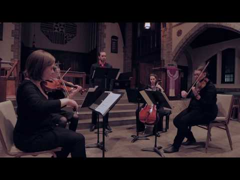 once white in shadow by Joey Crane, performed by The Bishop String Quartet and Justin Spenner