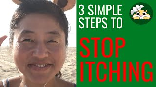 How to relieve itchy skin naturally - 3 simple steps
