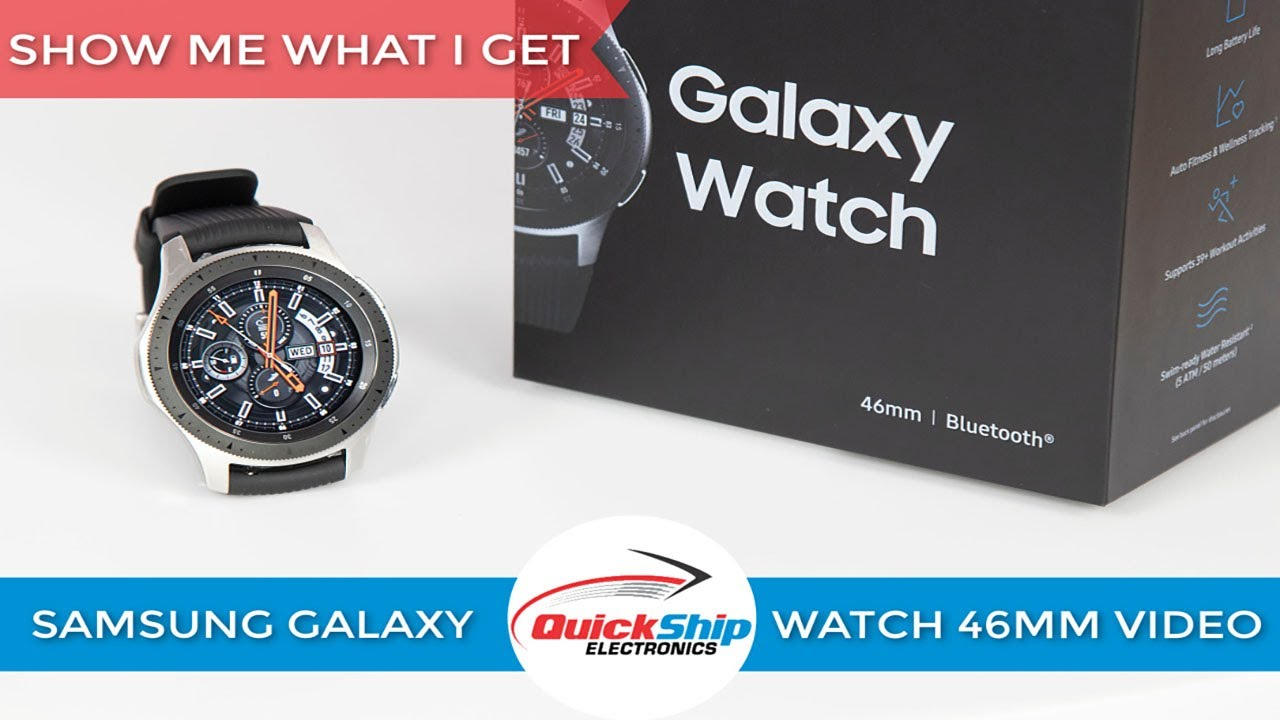 82adf4c9cd8 BUNDLE Samsung Galaxy Bluetooth Watch 46mm Silver SM-R800NZSCXAR
