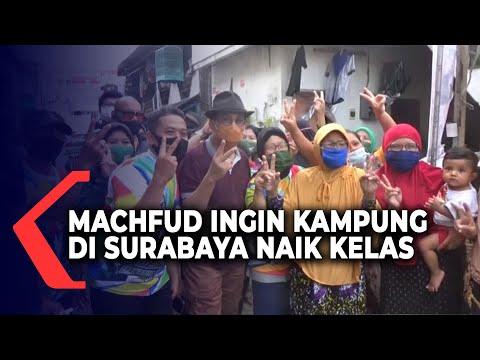 machfud arifin ingin kampung di surabaya naik kelas