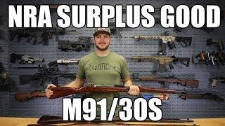 Russian M91/30 Mosin Nagant Rifle, Arsenal Refinished, NRA Good Surplus- 7.62x54R Caliber - With Bayonet. Tula Manufacture