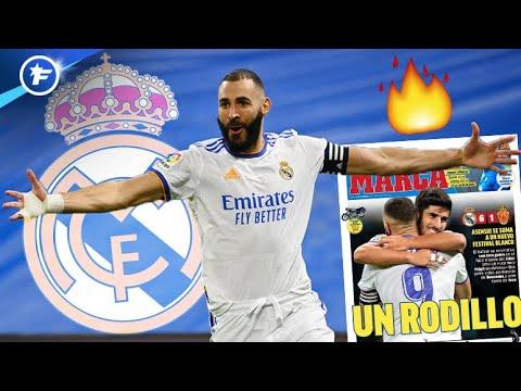 Les chiffres HALLUCINANTS de Karim Benzema cette saison   Revue de presse
