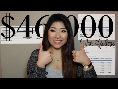 Read How I Received Over $46,000 to go to College! | No Loans