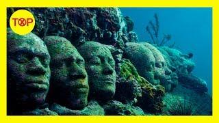 7 Cosas raras y misteriosas encontradas en las profundidades del mar