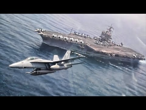 If you've wondered Flying In A F-18?