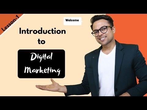 Lesson-1: Introduction to Digital Marketing | (FREE Digital Marketing ...