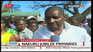 MP-David Gikaria tells the Jubilee officials attempting to rig that residents are ready and vigil