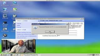 Creating Admin Accounts With Hiren Boot CD