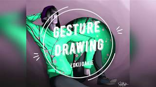 Gesture Drawing Into Art - Hipster Farren