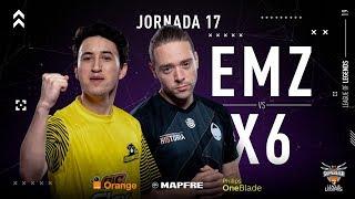 eMonkeyz Club VS x6tence   Jornada 17   Temporada 2019 Verano