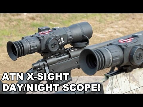 ATN X-Sight Day/Night Scope! Nightvision on a Budget