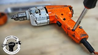 Vintage Cord Drill Restoration - Black and Decker