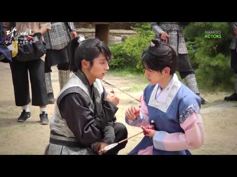 Behind the scenes Moon Lovers: Scarlet heart ryeo (So kills Eun)