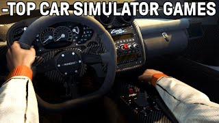 Top 5 Car Driving Simulation Games PC