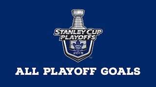 Toronto Maple Leafs | Every Goal from 2019 Playoffs