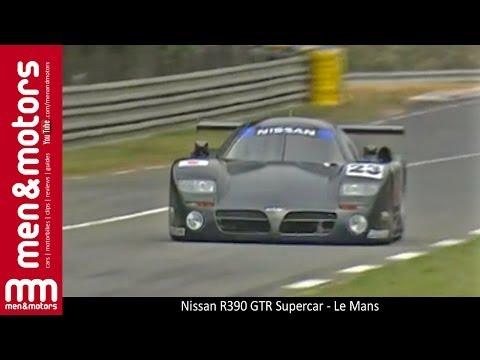 Nissan R390 GTR Supercar - Le Mans
