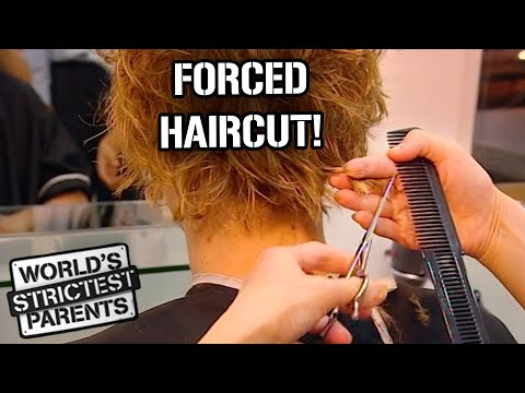 Download Teen Forced to Get a Haircut | World's Strictest Parents | World's Strictest Parents HD Mp4 3GP Video and MP3