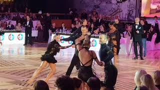 Ruslan Khisamutdinov  & Karina Yusupova Jive 1/2 Kremlin Cup Amateur Latin