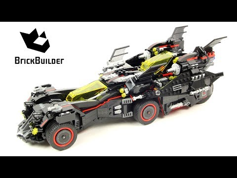 The Batman Movie Pas 70917 Suprême Lego Batmobile CherLa bf6Y7yg