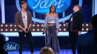 Kristian, Phillip og Erika får sesongens første stående applaus    Idol Norge 2018