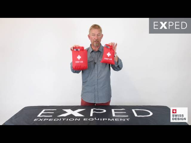 Видео Гермочехол для аптечки Sea to Summit First Aid Dry Sack Overnight Red 3 L