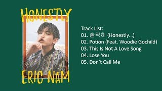 [Full Album] Eric Nam – Honestly (Mini Album)