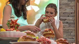 VIP Seafood 1lb of Lobster with 8 Rolls or 2lbs of Lobster with 16 Rolls on QVC