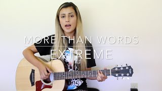 More Than Words (Cover by Annie Wallflower)