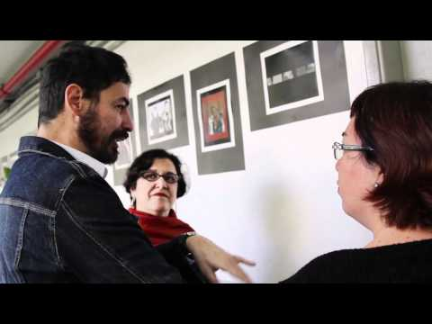 #30bienal - Educativo - Nino Cais conhece o trabalho de profª Marlene