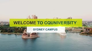 Welcome to CQUniversity Sydney