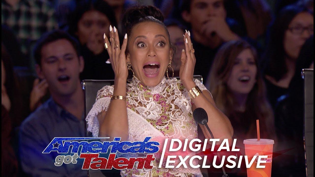 Best Mel B Reactions - America's Got Talent 2017 (Extra) thumbnail