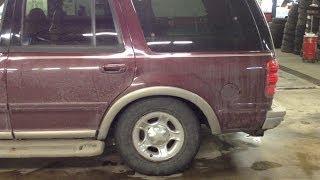Ford Air Ride Rear Suspension Down Diagnosis & Fix