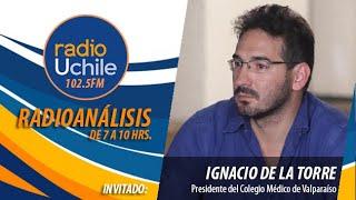 """Dr. Ignacio De la Torre pide al Gobierno """"reaccionar rápido"""" ante eventuales rebrotes"""