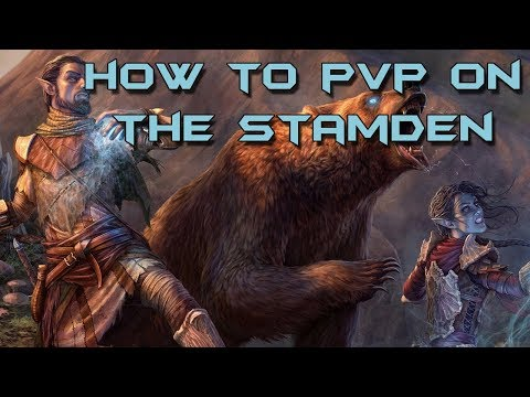 ESO - How to PvP on the Stamina Warden — Elder Scrolls Online