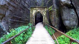 Skalní labyrinty - Rock labyrinths, Adršpach, Czech Republic