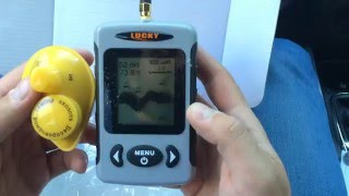 Видеообзор эхолота  LUCKY FFW718