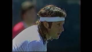 Jimmy Connors Vs Guillermo Vilas US Open 1982 SF Highlights