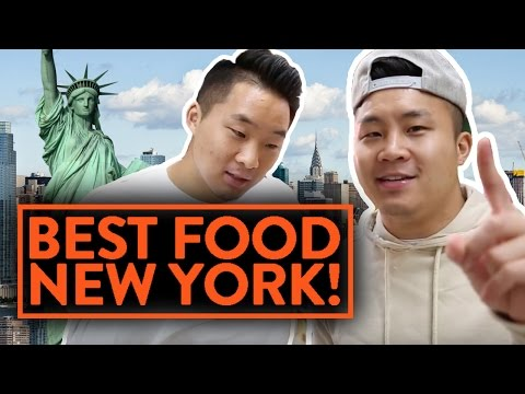Video THE BEST FOOD IN NEW YORK! - Fung Bros Food
