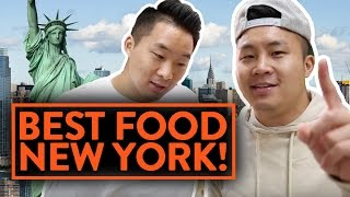 THE BEST FOOD IN NEW YORK! - Fung Bros Food - Video Youtube