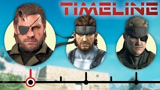 The Complete Metal Gear Timeline - Definitive Edition Ft. David Hayter | The Leaderboard