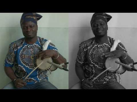 Ejaspapa GNONLONFOUN, Agbéhoun, Gangan, Yoruba talking drums.