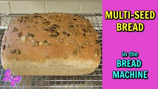 MULTI-SEED BREAD In The BREAD MACHINE!  Bread Recipes | #LeighsHome