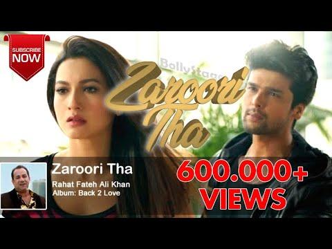 ZAROORI THA | RAHAT FATEH ALI KHAN | DJ SHEMIER