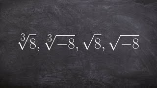 Learn the basics for taking the root of a number even and odd