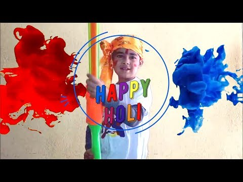 My Holi Preparation! Colorful Holi at Kids Playtime fun with Sams Review