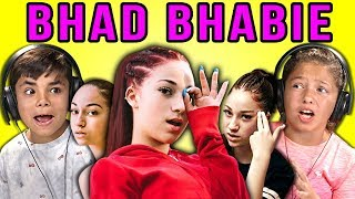 KIDS REACT TO BHAD BHABIE - Video Youtube