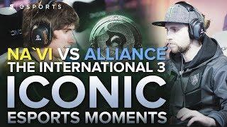 ICONIC Esports Moments: Na`Vi vs Alliance at TI3 ft. S4