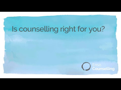 Is counselling right for you?