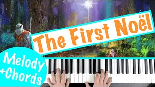 How to play 'THE FIRST NOEL' - Christmas Carol | Piano Tutorial